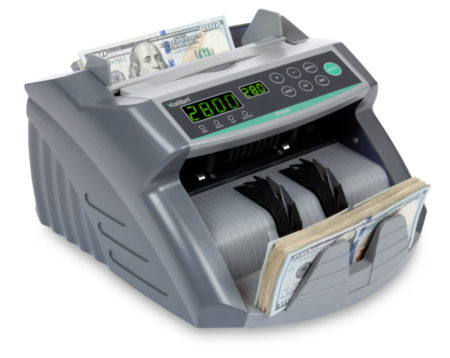 Quickly and accurately count the money your business generates with the Kolibri Rook Bill Counter!