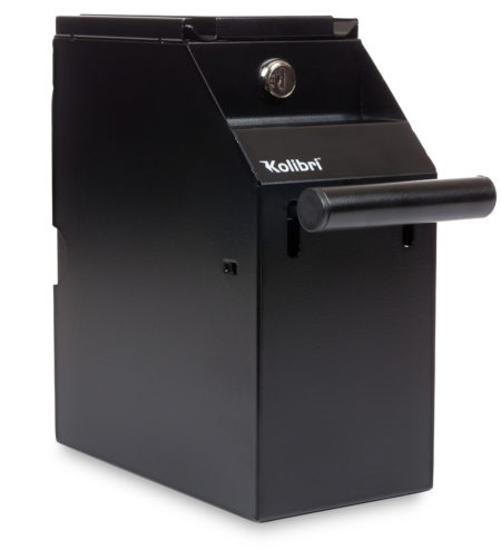 Safely and securely Store the Cash Your Business Generates Right at the Point of Sale With the Kolibri Commercial Cash Drop Safe.