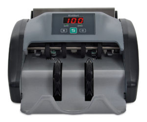 Kolibri Automatic Bill Counter Money counting made easy with with the Kolibri automatic bill counter.
