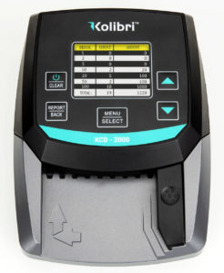 Money Counter And Counterfeit Detector KCD 2000