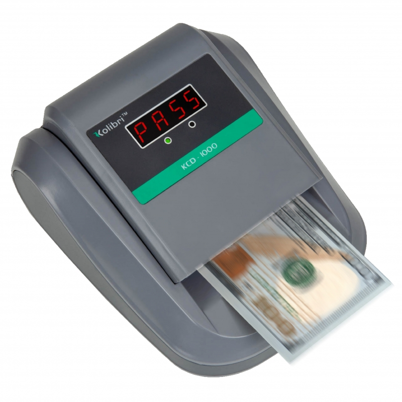 KCD-1000 | All-Way Orientation Counterfeit Money Scanner