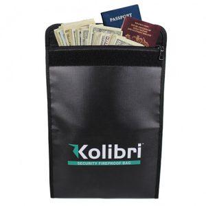 Kolibri Fireproof Document Bag
